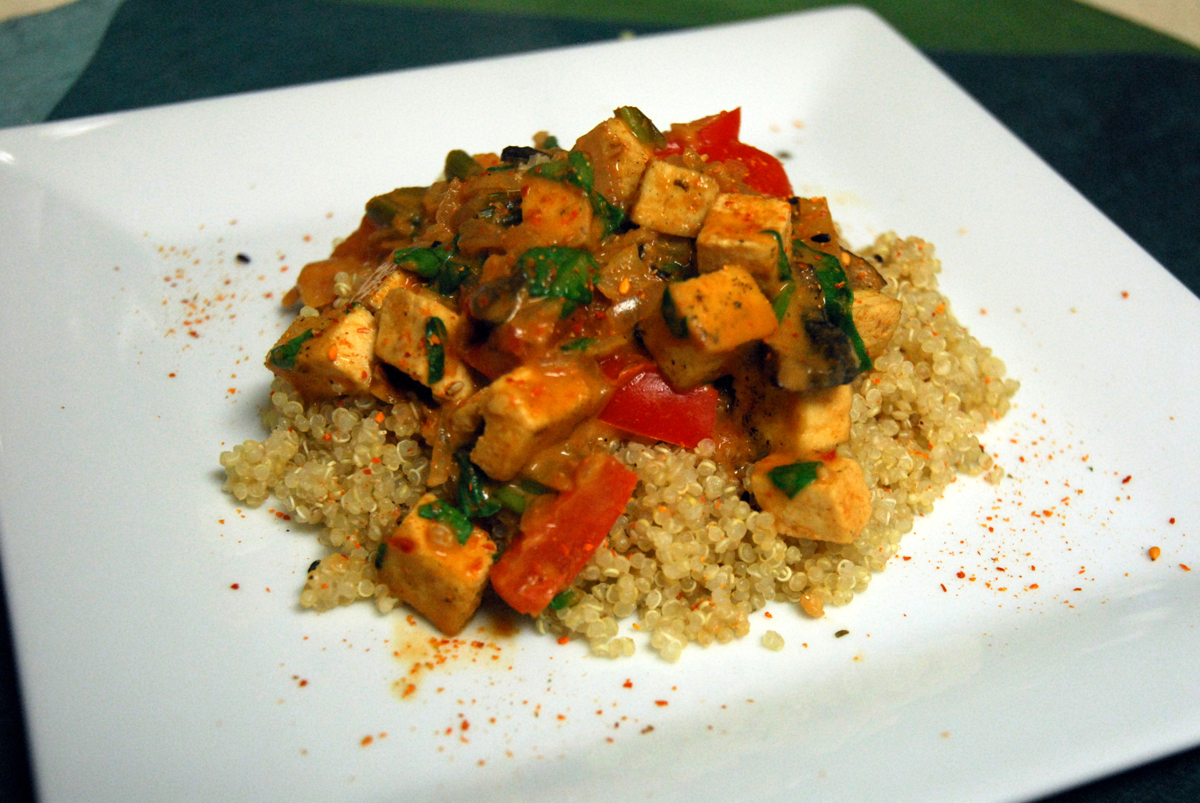 thai red curry with kabocha squash thai red curry with tofu and basil ...