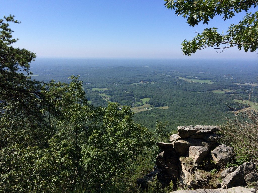 Pilot Mountain trail