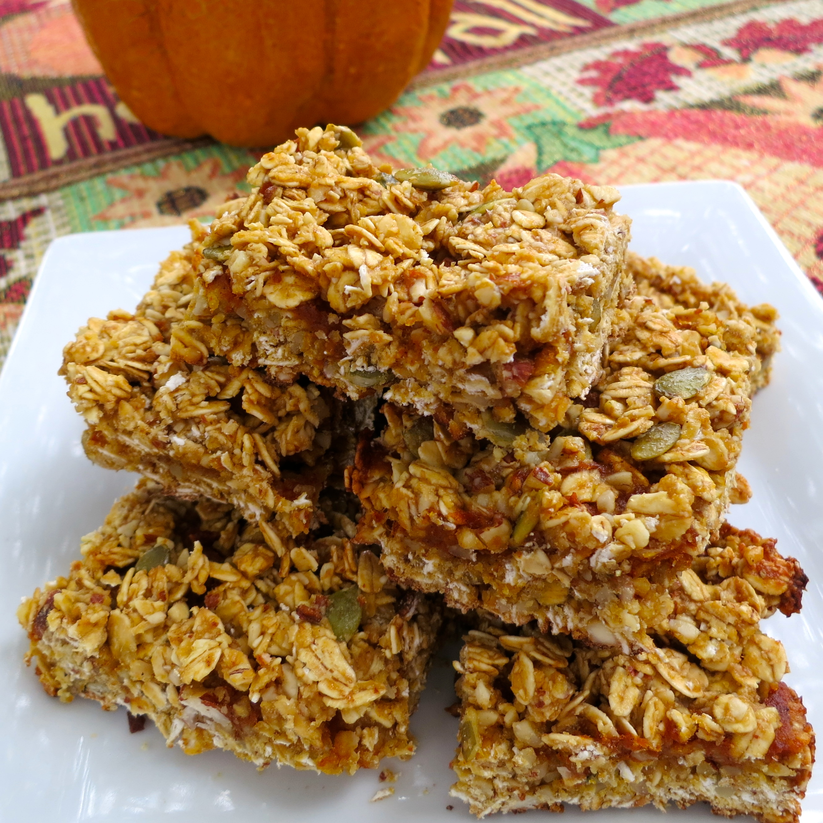 Pumpkin Butter Granola Bars