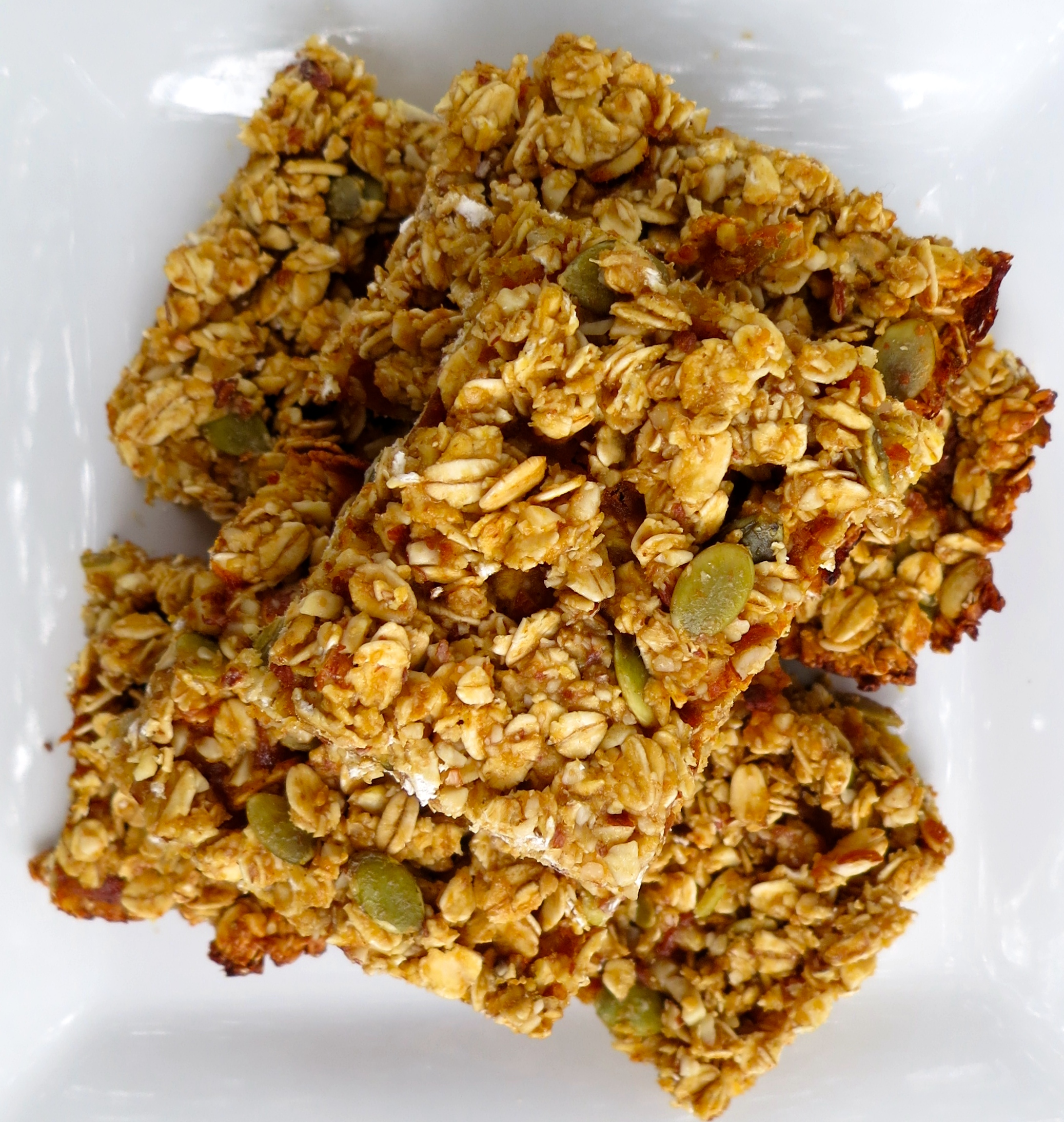 Like all granola bars (and granola), this recipe is easy to whip ...