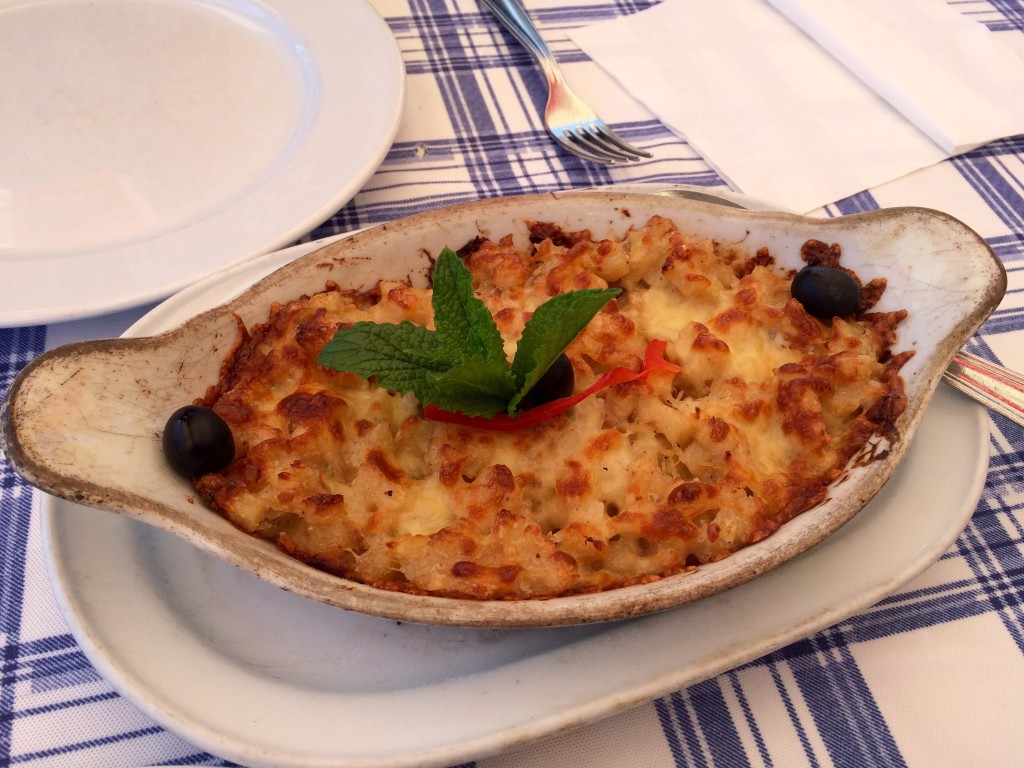 Portuguese Mac n Cheese